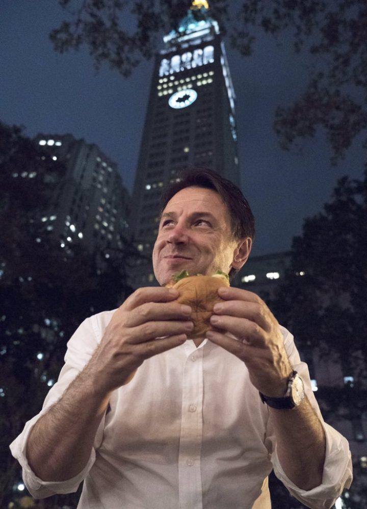 Giuseppi e l'hamburger