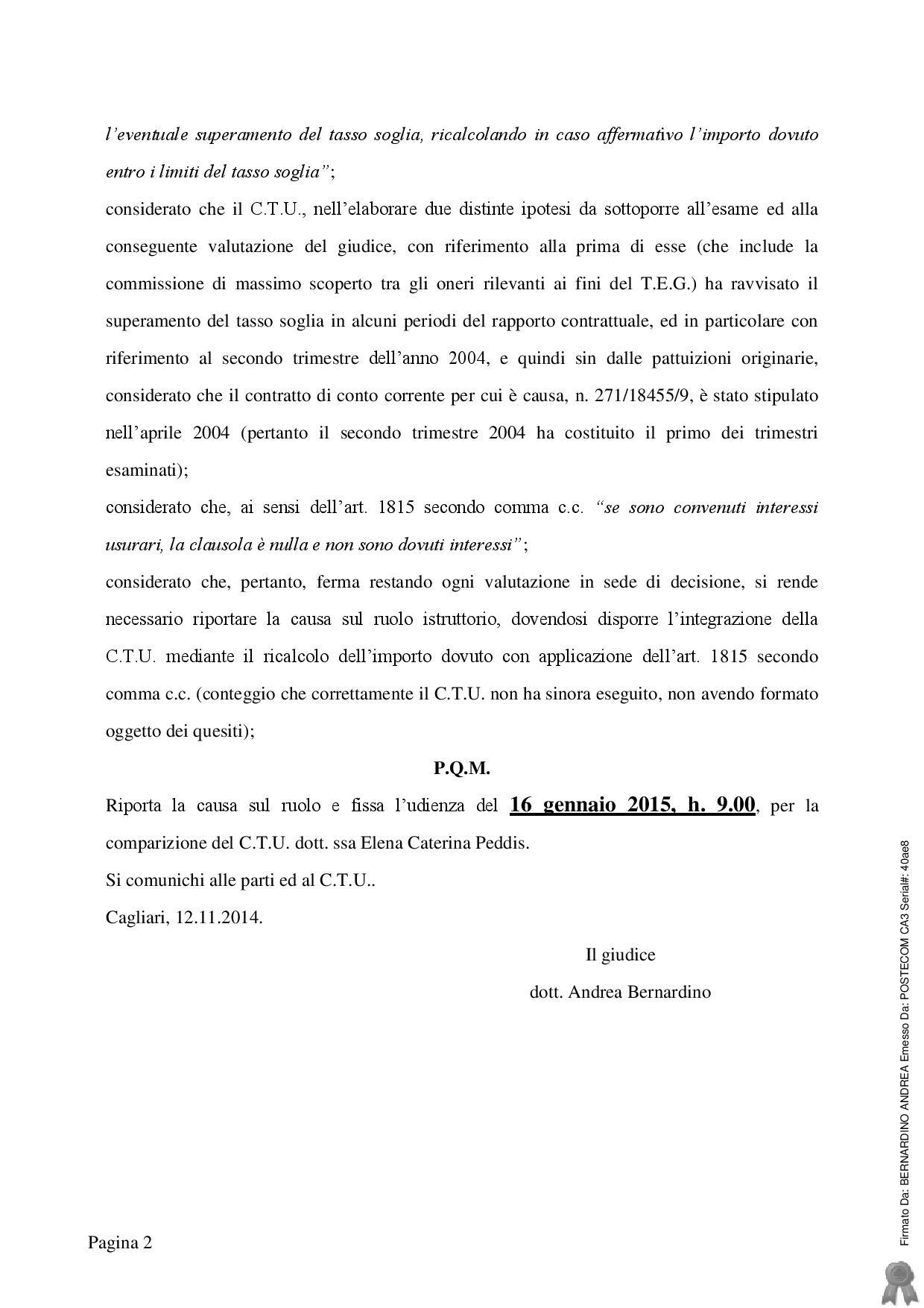 ordinanza Tribunale Cagliari